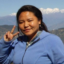 Treasurer. Teacher of English, Tibetan and Népali